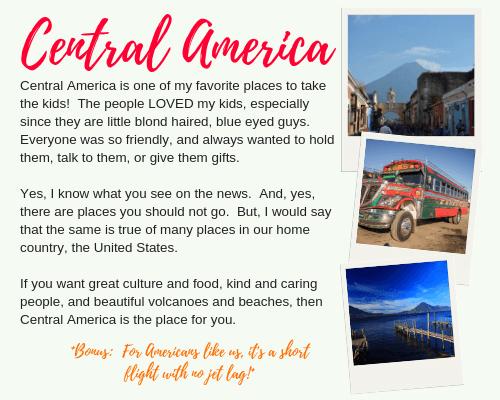 Central America Intro and Description