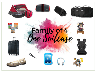 Packing for a Family of 4 with One Suitcase