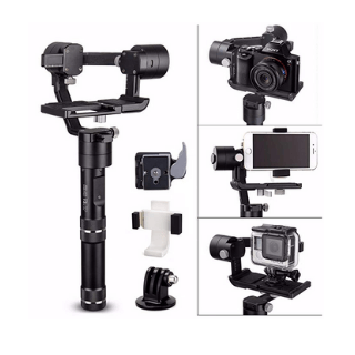 Share Facebook Twitter Pinterest Currently unavailable. We don't know when or if this item will be back in stock. Deliver to Kristin - Mt Zion 62549‌ Add to List Add to Baby Registry Have one to sell? Sell on Amazon Ad feedback Zhiyun Crane M 3-Axis Stabilizer Gimbal for All Sports Cameras & All Smartphones & Sony black magic series DC & Panasonic Lumix DMC & a few Mirrorless Cameras Roll over image to zoom in Zhiyun Crane M 3-Axis Stabilizer Gimbal