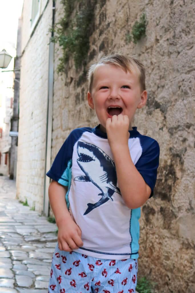 Matthew in Trogir Croatia