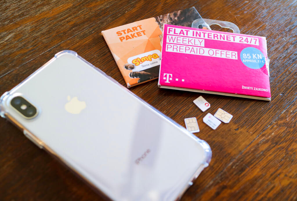 Cell phone and sim cards