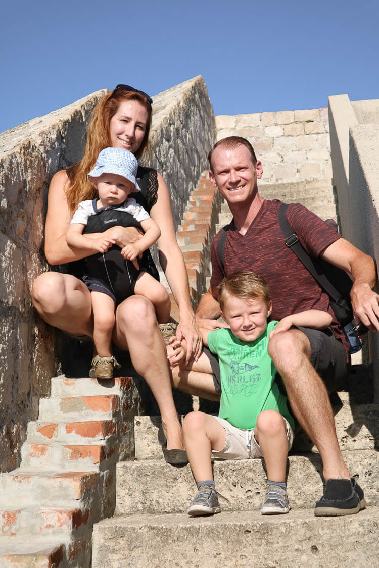 Young Family in Dubrovnik