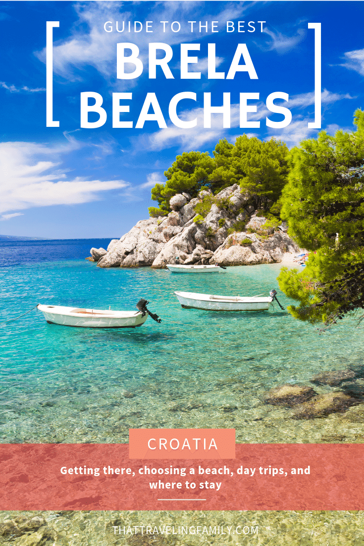 Brela Beach Guide, including Punta Rata, Croatia