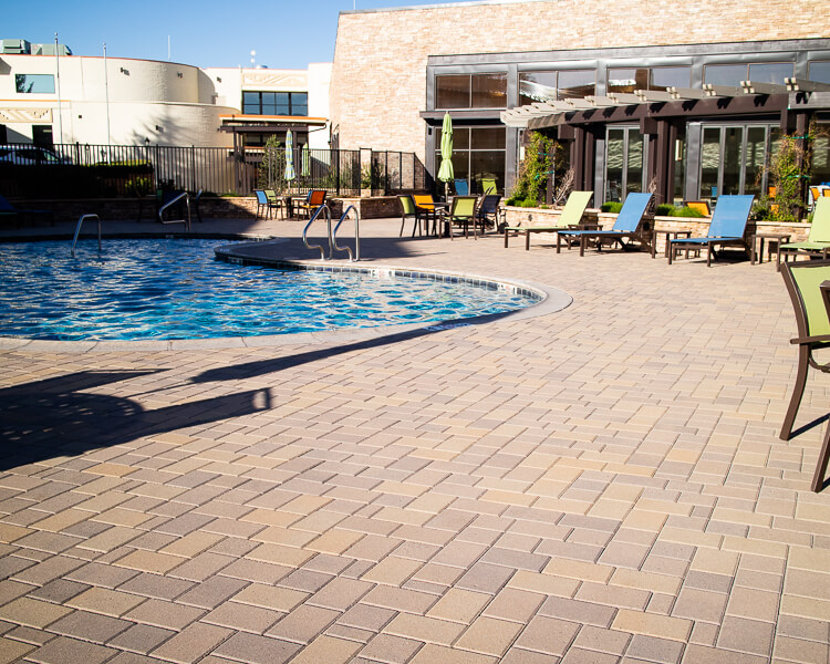 Pool Area at Best Western Premier Grand Canyon Squire Inn Hotel in Tusayan, AZ