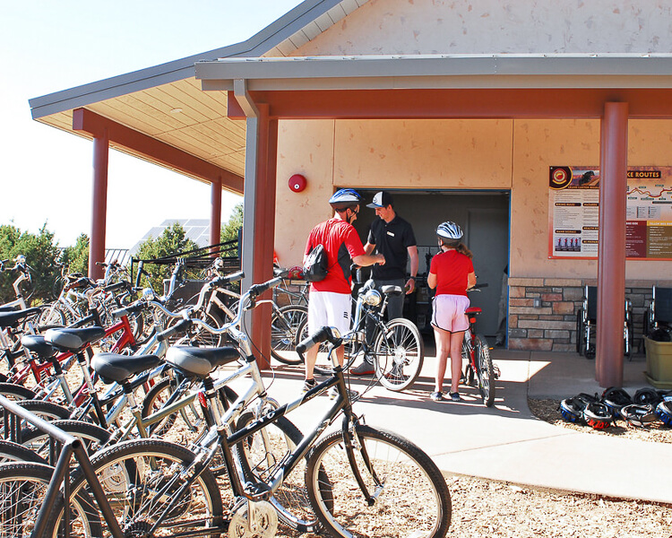 Stroller and Bike Rental at Grand Canyon