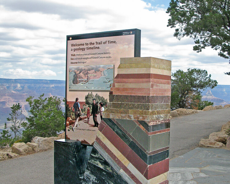 Trail of Time at the Grand Canyon