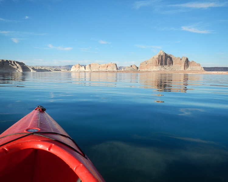 View from Kayak Lake Powell