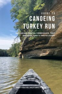 Guide to Canoeing Turkey Run State Park, Indiana