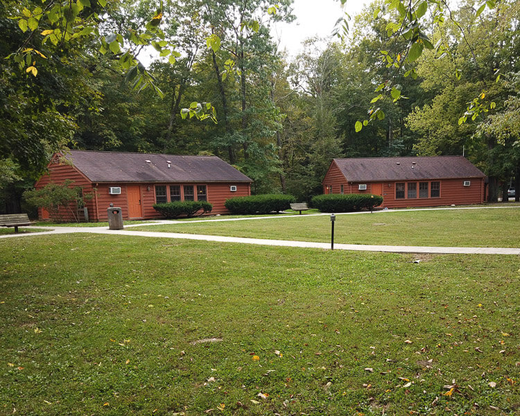 Cabins at Turkey Run State Park